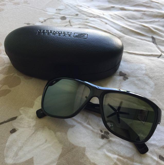 📮Serengeti Black Polarised Sunglasses