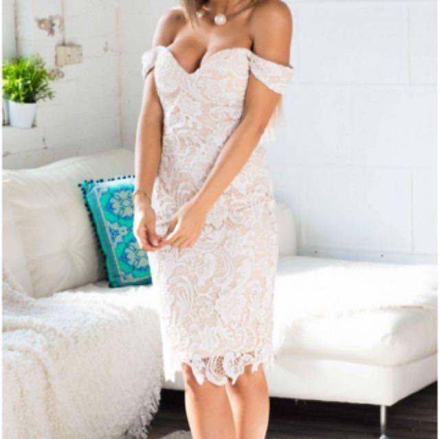 Showpo lace dress