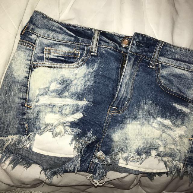 Size 4 american eagle jean shorts