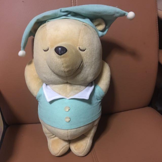 3188c352ad23 Sleeping Winnie Pooh bear plush