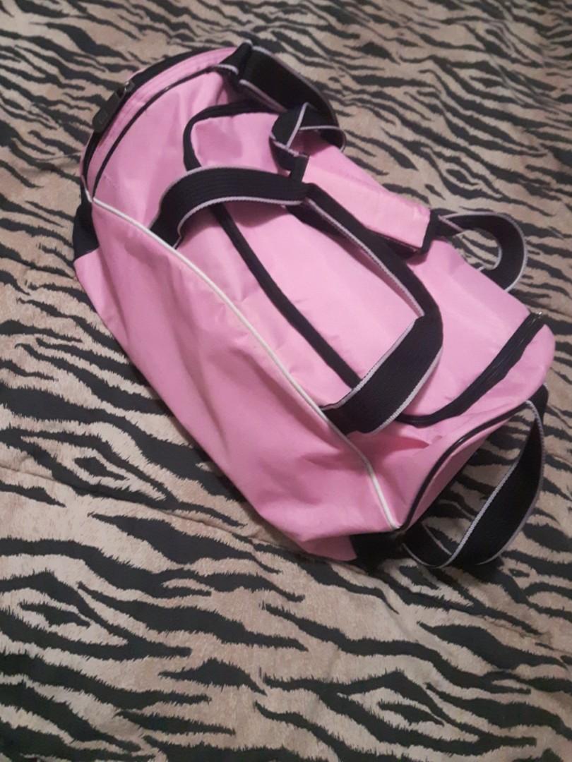Small pink - foot locker -duffle gym bag