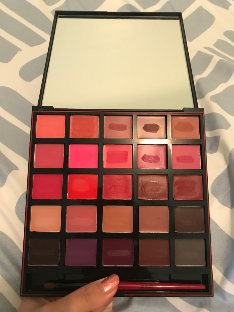 Smashbox Matte Lipstick Palette Authentic Limited edition