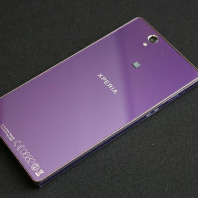 Sony Xperia Z紫色 零件機
