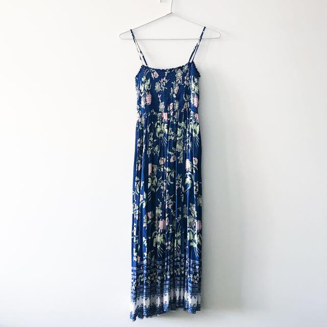 Sportsgirl blue maxi dress