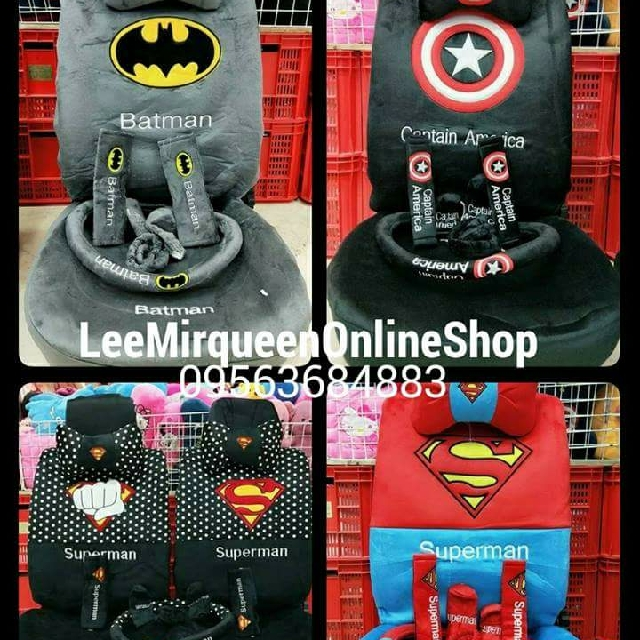 SUPERHERO CAR SEAT COVER Auto Accessories Others On Carousell