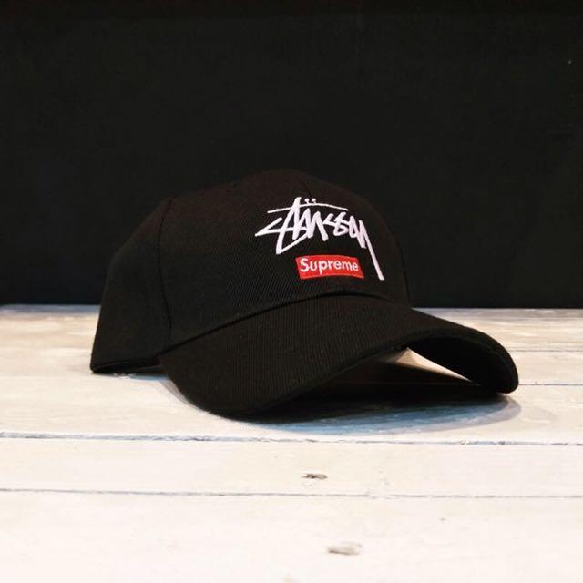 Supreme x Stussy Baseball Cap (Snapback   Free Size) 33dd18df9c