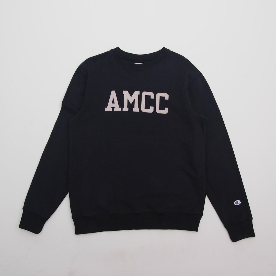 Sweater Crewneck Champion AMCC Hitam