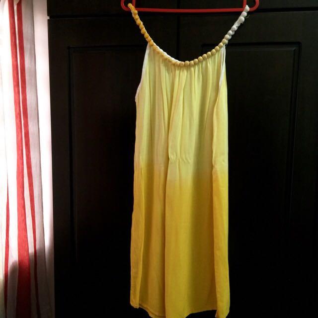 Sweet Yellow Dress