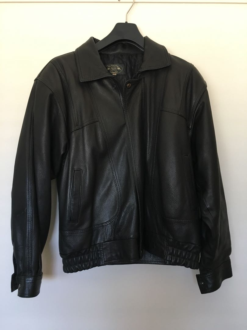 The Australian Company Leather Jacket Size L ? Unisex