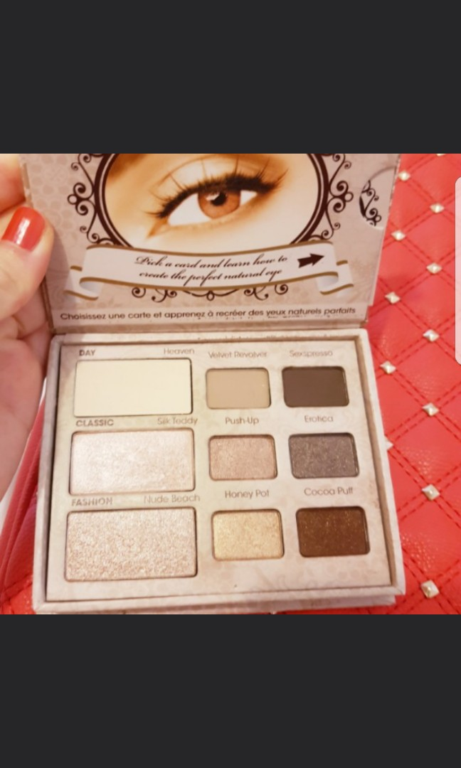 Too faced natural palette