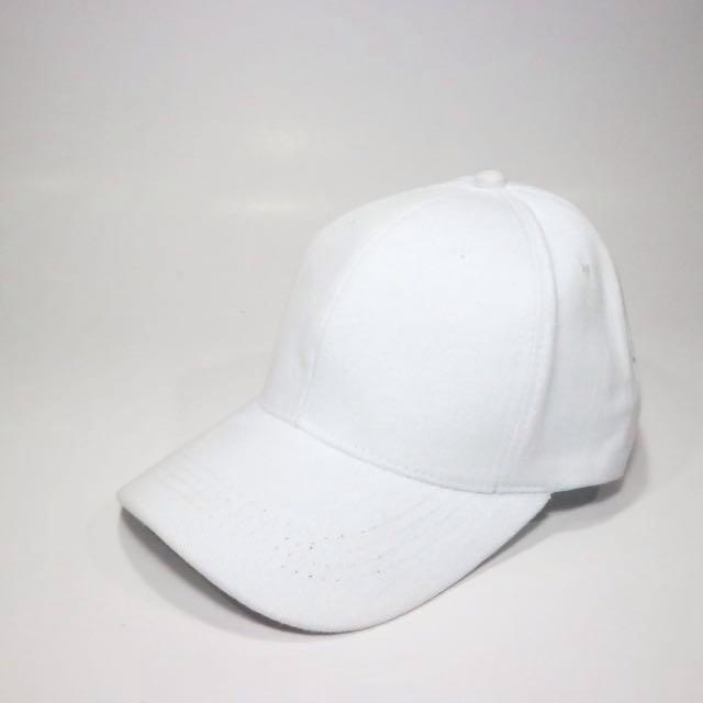Topi Putih Polos Murah Pengait Cakop 4b02cfc963