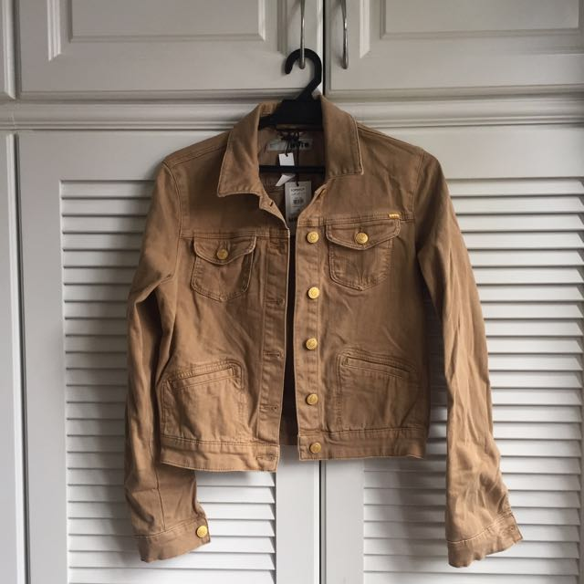 Topshop Jacket in Khaki