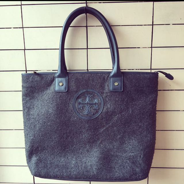 TORY BURCH FELTED FOOL TOTE BAG