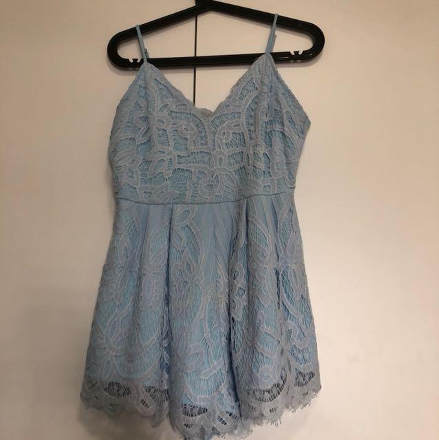 294afd0dd0 Ttr halia light blue dress, Women's Fashion, Clothes, Dresses ...