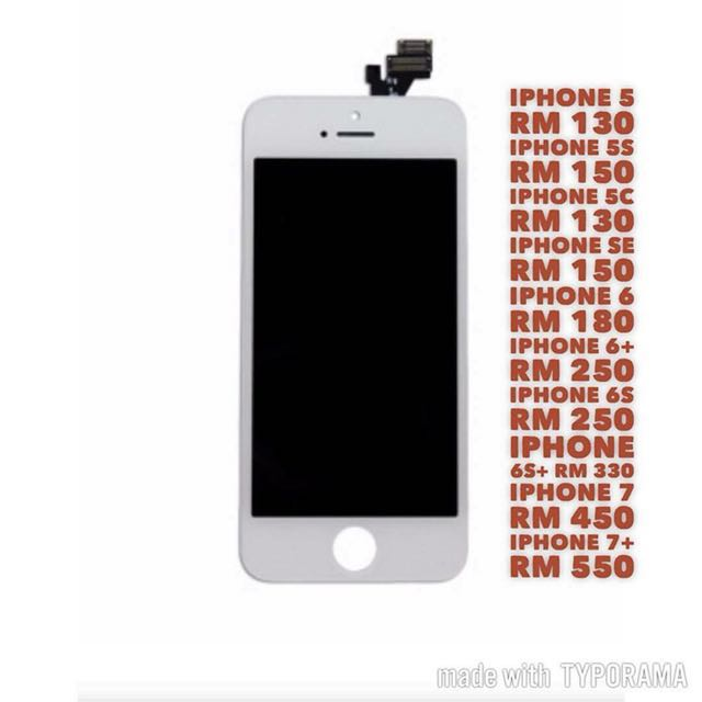 hot sale online bef65 2843d Tukar LCD Screen Iphone Face to Face