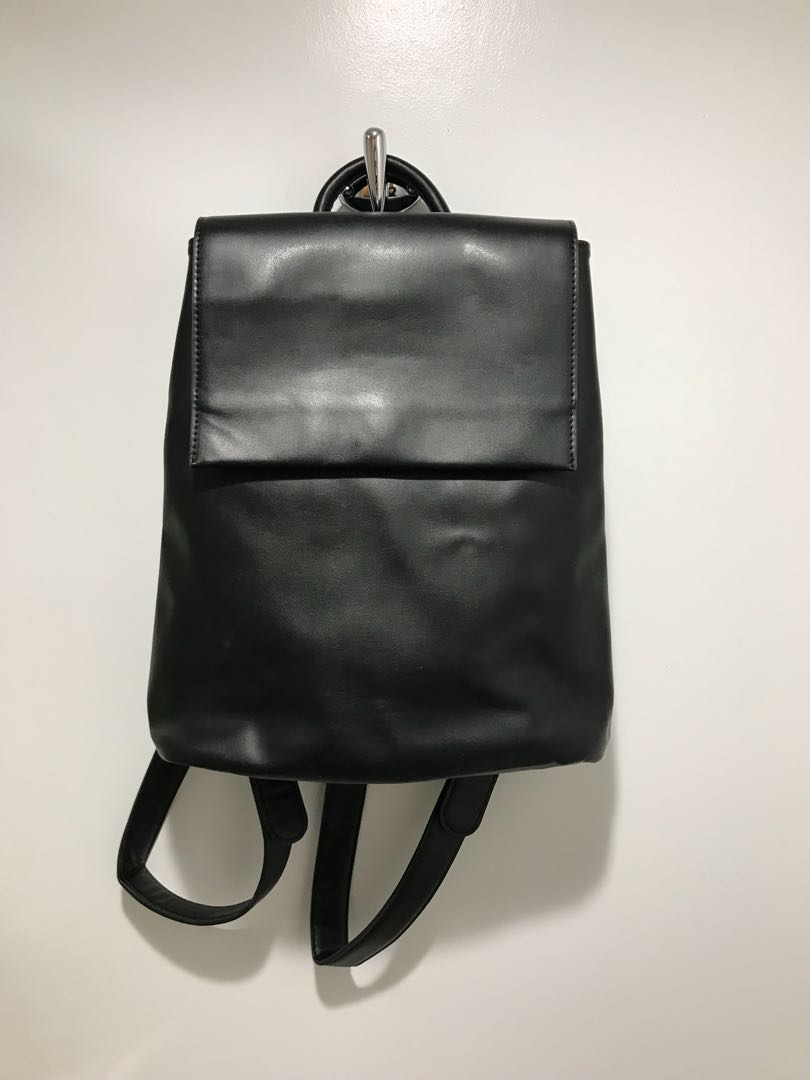 urban outfitters faux leather mini backpack