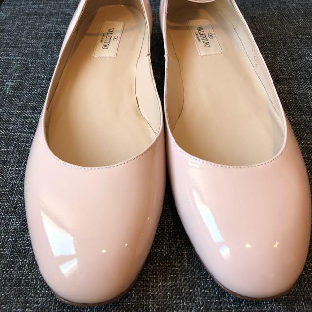 Valentino Ballet Flats — Rose