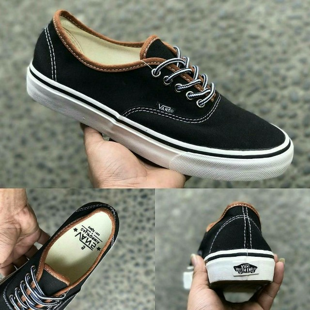 VANS AUTHENTIC CALIFORNIA BLACK WHITE 🗽 d2fd55879