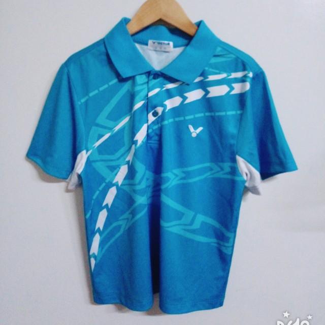 Victor羽球polo衫 運動上衣 s號