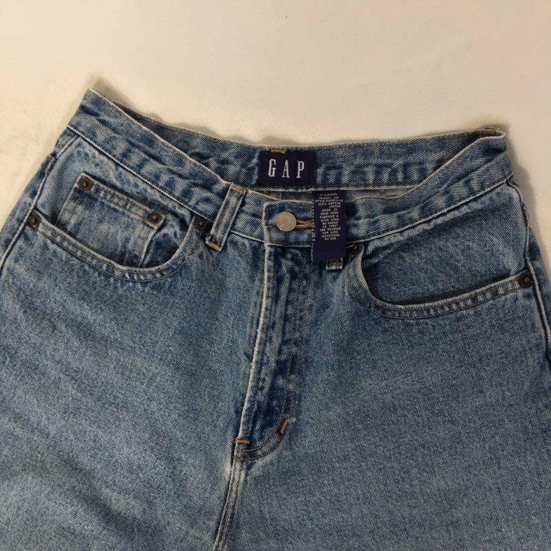 "Vintage Gap High Waisted Jeans - 28"""
