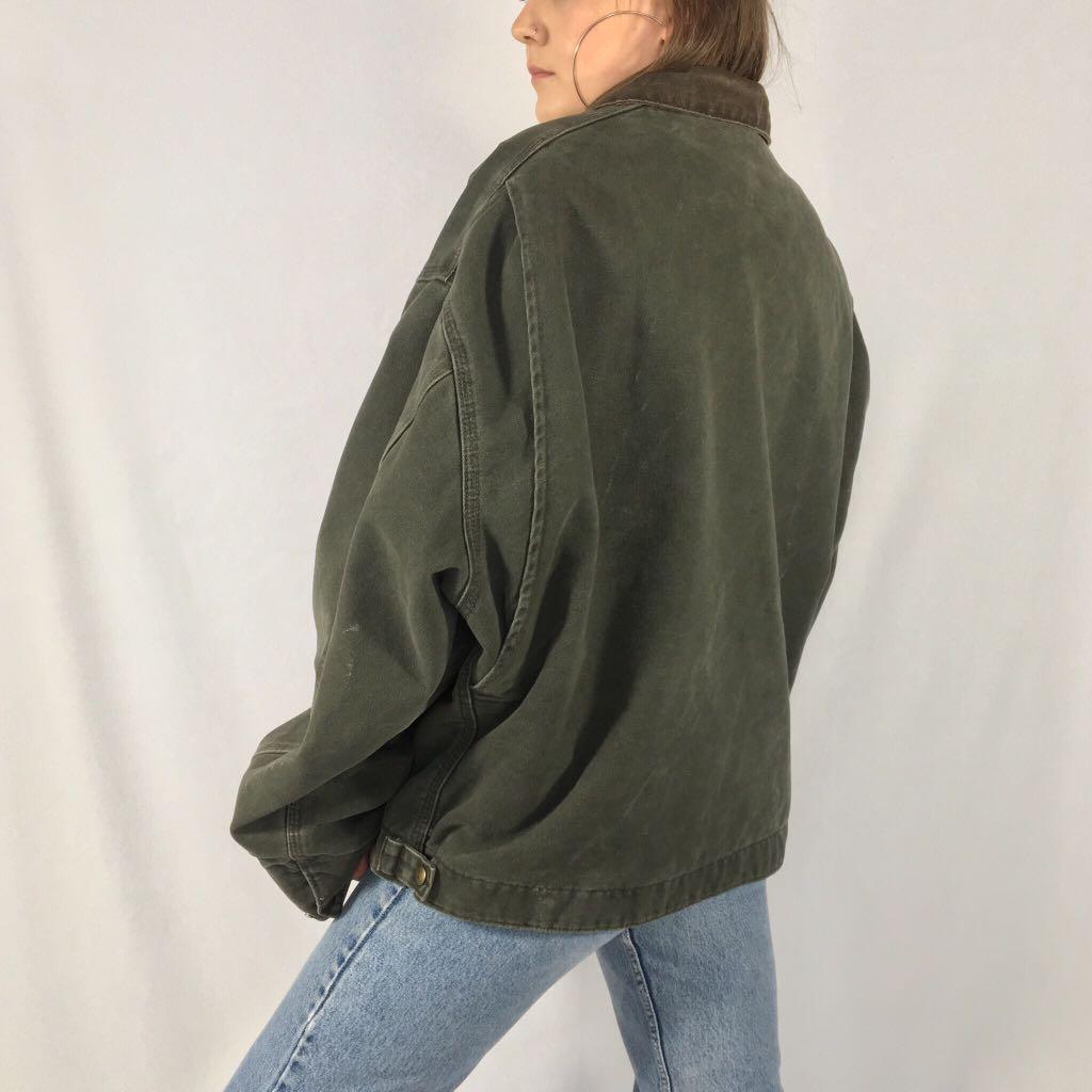 Vintage Green Carhartt Jacket
