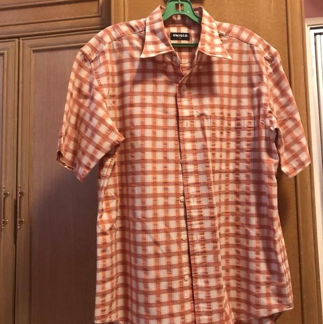 Vintage Uniqlo Check Shirt