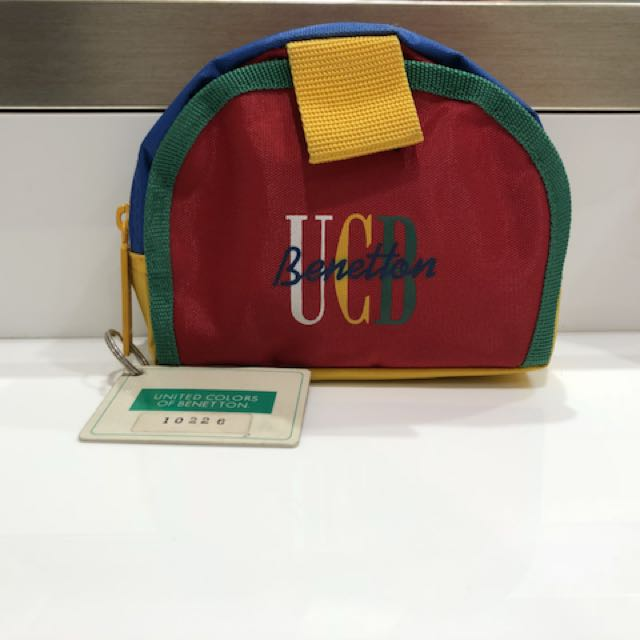 Vintage United Colors of Benetton Pouch