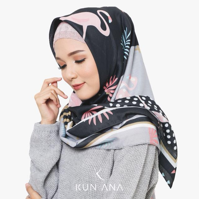 voal printed scarf by kun ana