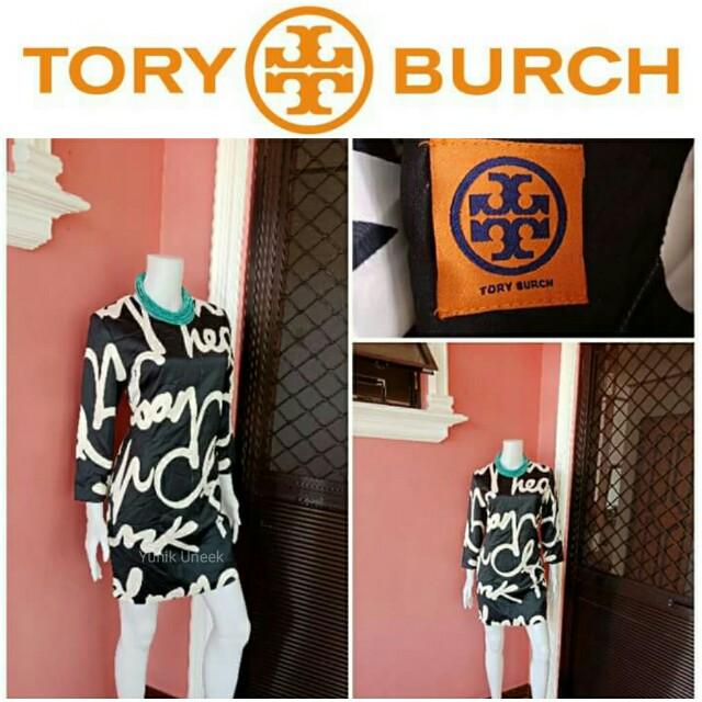 -Yunik- Authentic Tory Burch Long Sleeves Shift Dress Php 3295 / $ 66