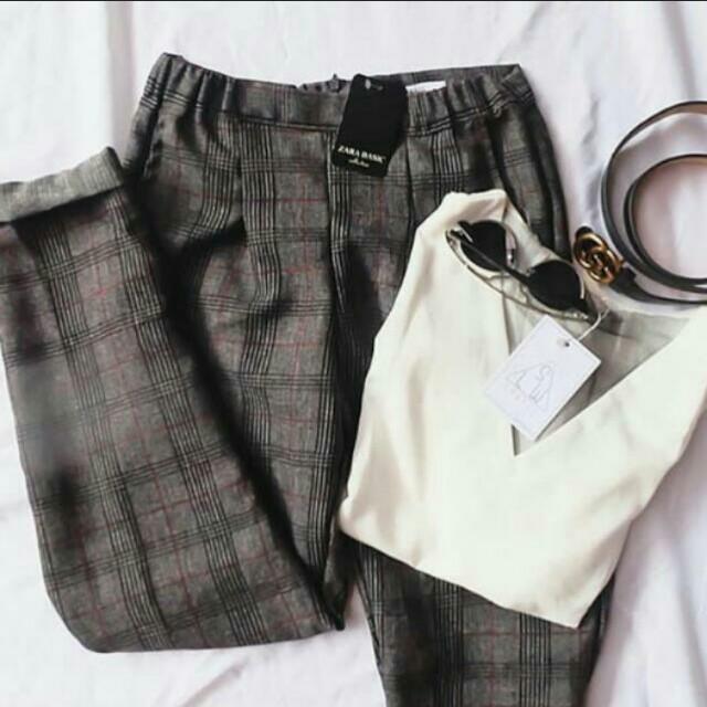 Zara Basic Chino Pants