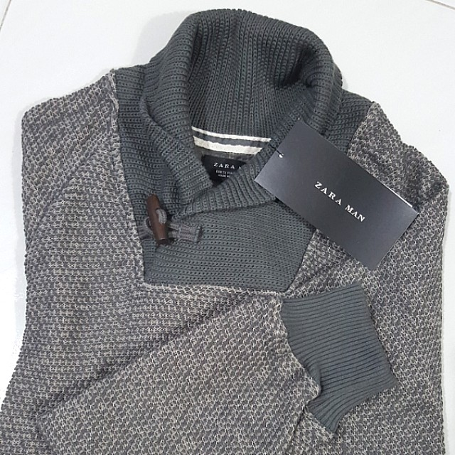 59105894 Zara Man sweater, Men's Fashion, Clothes, Outerwear on Carousell