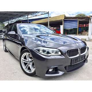2015 Bmw 528i 2.0 (A)NEW FACELIFT UNDER WRANTY BMW
