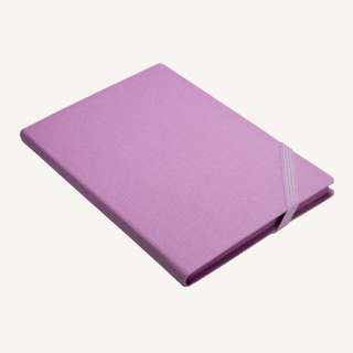 Daycraft Make My Day Lined Notebook – A5, Purple
