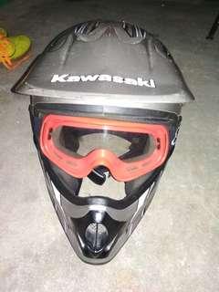 Helm Kawasaki #UNIS2018