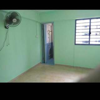 Master bedroom with attached toilet 5 mins walk to mrt