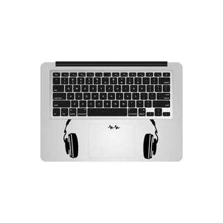 Headphone macbook Sticker