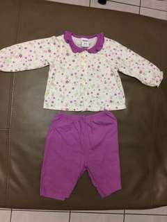 Baby pyjamas 6-12 mths
