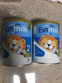 Einmilk stage 2 ( 2 cans )