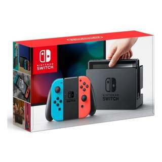 Nintendo Switch Console (Local Set) (Neon $460) (Gray $465)