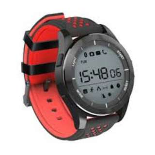 Outdoor Sports IP68 Smartwatch - Black & Red - No Charging Required with Internal Battery that last up to 1 Year - Support Android & IOS - Brand New