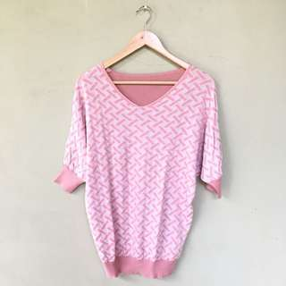 Knitted Pink