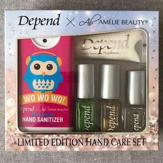 🈹[全新] Depend Limited Edition Hand Care set