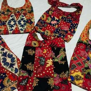 Batik Sling Bag ((FREEPOSTAGE))