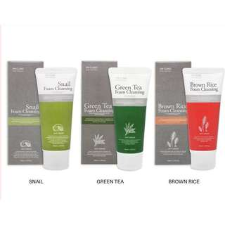 (get any 3) 3W CLINIC Pure Natural FOAM CLEANSING from KOREA 100ml.