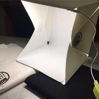 [Sales] Brand New Portable Mini Photo Studio Box With Built In LED Light light room tent