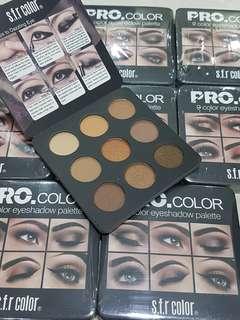 Pro color s.f.r 9 color eyeshadow palette