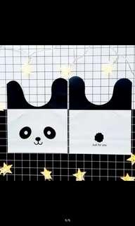 Panda goodies bag