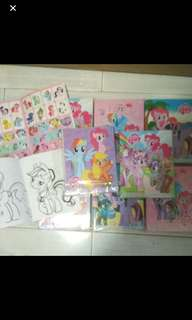 Instock My Little Pony mini Coloring And Stickers Book Brand New