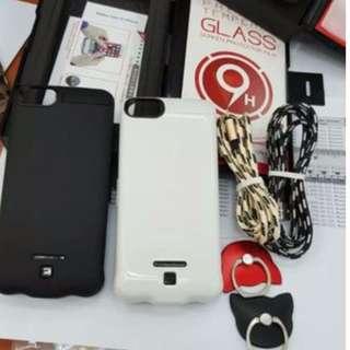 【📱🔋📶20000mAh 背夾充電寶 超薄手機殼 iphone 6/7/6s/7s/6p/7p 可充4次 送芒貼】