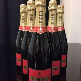 清貨特價Piper Heidsieck Champagne